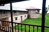 Kumsa Moroda palace. Nekemte in Oromia state, Ethiopia. It was the residence of the former local kings from the end of the 19° to the middle of the 20...