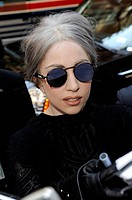 Lady Gaga, enters Carnegie Music Hall out and about for CELEBRITY CANDIDS - THURSDAY, , New York, NY May 13, 2010. Photo By: Ray Tamarra/Everett Colle...