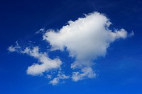 Sky, air, width, broadness, weather, wind, clouds, blue, blue sky, white, move