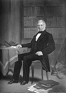 George Bancroft, 1800 - 1891, an American historian and statesman,.