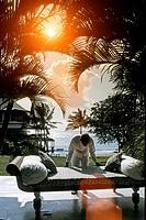alfajiri villas resort. mombasa beach.