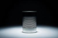 An aluminum can
