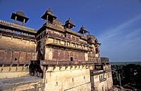Sheesh Mahal Palace Heritage Hotel Orchha Madhya Pradesh India