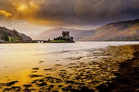 Dawn at Eilean Donan Castle, Scotland