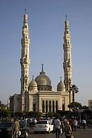 Port Fard, street, Suez Canal, Port Said, Egypt