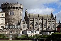 Ireland, Dublin, Castle, Record Tower,