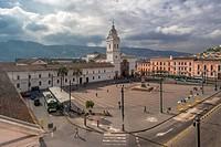 Iglesia de Santo Domingo, Quito, Ecuador