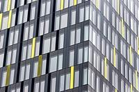 Austria, Upper Austria, Linz, Office building, Energie AG, Facade