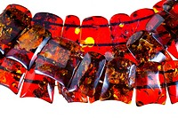 strings of amber necklace