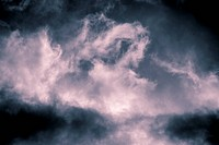 dramatic clouds on a stormy day, vintage color filter