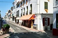Mao / Mahon Capital of Minorca, Spain