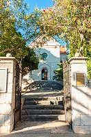 St. George's church in Sucuraj, Hvar island, Croatia.