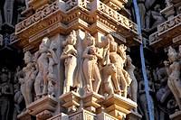 Kandariya mahadev temple Khajuraho Madhya Pradesh India Asia