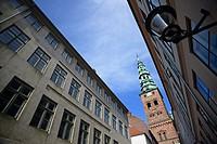 St. Nicholas church, home of Nikolaj, Copenhagen Contemporary Art Center.