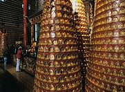 Buddhist Stupa-Shaped Prayer Wheels