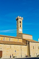 Cattedrale di San Romolo, cathedral, Piazza Mino, Fiesole, near Florence, Tuscany, Italy.