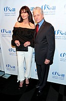 14th Annual Monte Cristo Award at the Edison Ballroom - Red Carpet Arrivals Featuring: Catherine Zeta-Jones,Michael Douglas Where: New York, New York,...