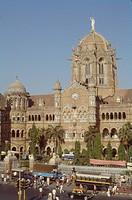 Victoria train station Bombay