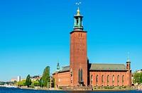 City Hall. Stockholm, Sweden