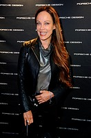 Launch of the new Capsule Collection of Chester Bennington (Linkin Park) for Porsche Design at Porsche Design house in Mitte. Featuring: Sonja Kirchbe...