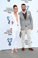 LCM S/S 2015: One For The Boys Charity Ball at the Natural History Museum, Kensington, London Featuring: Cara Santana,Jesse Metcalfe Where: London, Un...