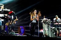 Wireless Festival - Day 1 - Performances - Rudimental ft. Ella Eyre Featuring: Ella Eyre,Rudimental Where: Birmingham, United Kingdom When: 04 Jul 201...