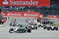 2014 Formula 1 Santander Silverstone British Grand Prix - Race Day Featuring: Atmosphere Where: Silverstone, United Kingdom When: 06 Jul 2014 Credit: ...