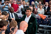 The Expendables 3 - World Premiere held at the Odeon Leicester Square - Arrivals Featuring: Sylvester Stallone Where: London, United Kingdom When: 04 ...
