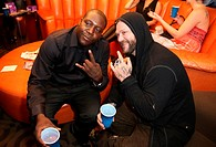 Bam Power Shots Penthouse Cocktail Party held at the Apex Penthouse inside Planet Hollywood Las Vegas Resort & Casino Featuring: Bam Margera,Ray Luv W...