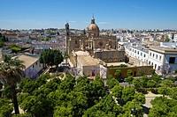 Cathedral La Colegiata del Salvador, Jerez de la Frontera, Andalusia, Spain