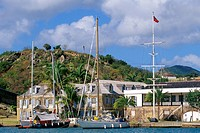 Antigua, Nelson's Dock harbour