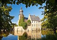 Burg Gemen Castle, moated castle, Borken, Germany