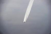 View of plane in flight