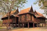 Thailand, Ayutthaya, Khun Phaens Residence.