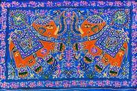 Elephant's design rug