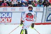 22.03.2015, Roc de Fer, Meribel, FRA, FIS Weltcup Ski Alpin, Meribel, Finale, Slalom, Herren, im Bild Mattias Hargin (SWE) // Mattias Hargin of Sweden...