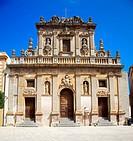 Italy, Sicily, Castelvetrano. The church of the Purgatorio in the historic center