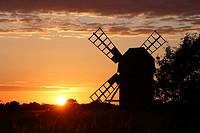 Windmill, Öland, Sweden