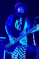 Slipknot perfoming with Korn on Slipknot's 'Prepare for Hell' Tour 2014 at Allstate Arena Featuring: Korn,Reginald Arvizu Where: Rosemont, Illinois, U...