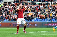 2015 Serie A Football Roma v Napoli Apr 4th. 04.04.2015. Rome, Italy. Serie A Football. Roma versus Napoli. Miralem Pjanic celebrates after he scores ...