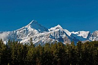 Snowcapped Canadian Rockies