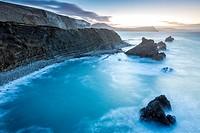 Mupe Bay, Jurassic Coast, UNESCO World Heritage Site, Dorset, England, United Kingdom, Europe.