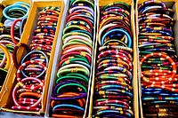 colourful bangles rajasthan India Asia