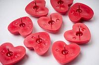 heartshaped pins