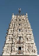 Gopuram of Shri Rama Vaikunth Temple, Pushkar, Rajasthan, India