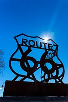 Holbrook, U.S. Route 66 (US 66 or Route 66), Arizona, USA, América.