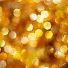 Bright golden lights background