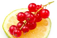 Redcurrant with lemon