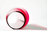 abstract circle in pink