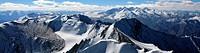 Himalayas Panorama, From Top of Mountain, India